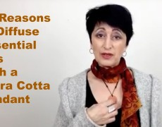 10 Reasons to Diffuse Essential Oils with a Terra Cotta Pendant