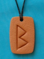 The BERKANA Rune: growth, fertility, health, conception, plenty, new beginnings
